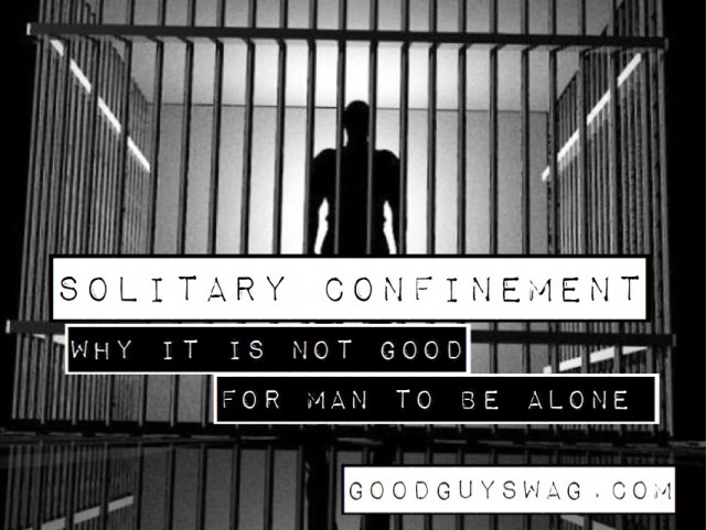 why it is not good for man to be alone