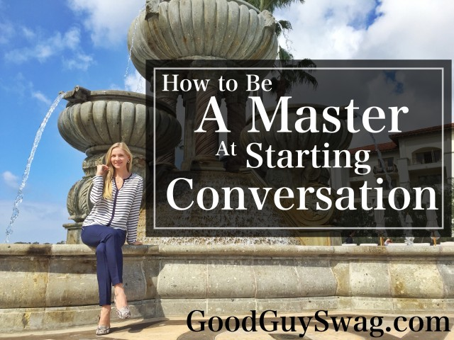 how to be a master at starting conversation