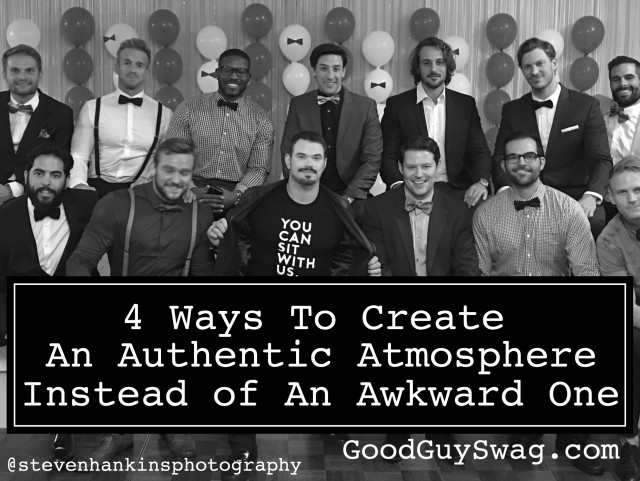 Ways to create an authentic atmosphere