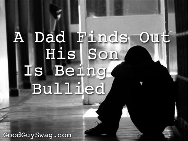 Son being bullied