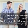 Difference between dating a girl and a woman