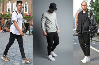 Men's sports luxe shoes