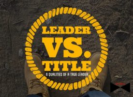 Leader vs. title
