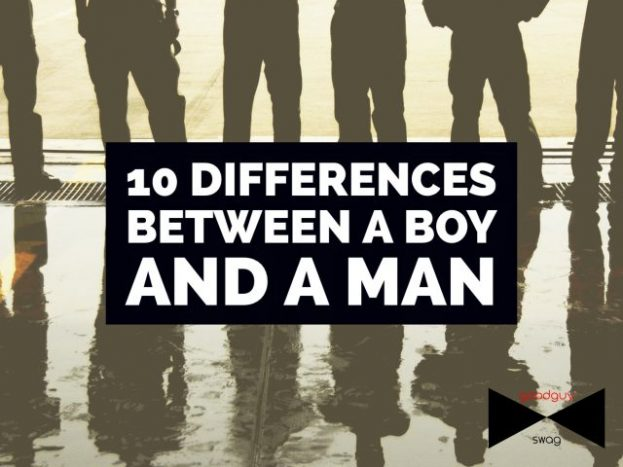 10 differences between dating a boy and a man