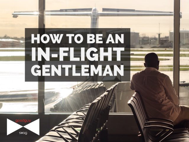 In-flight gentleman