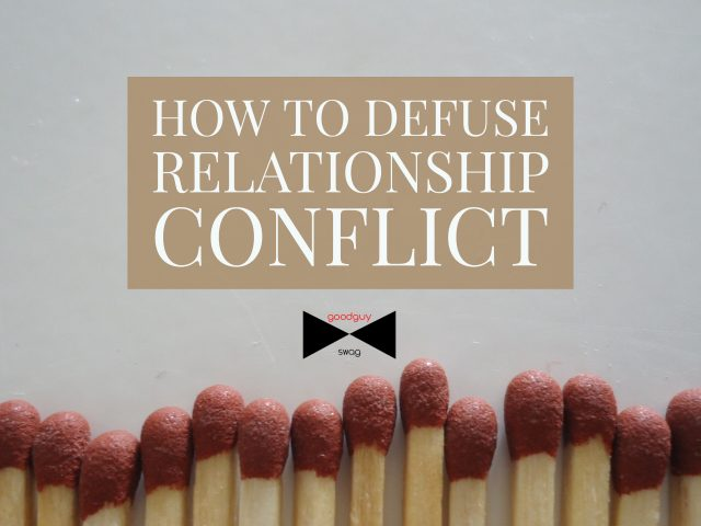 defuse relationship conflict