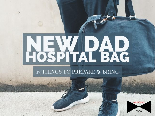 New dad hospital bag