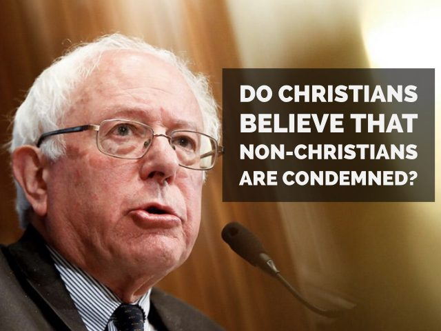 Do Christians Believe that Non-Christians are Condemned?