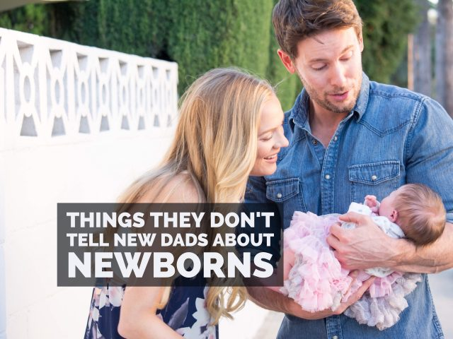 Things They Don't Tell New Dads about Newborns