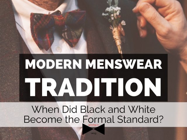 modern menswear tradition
