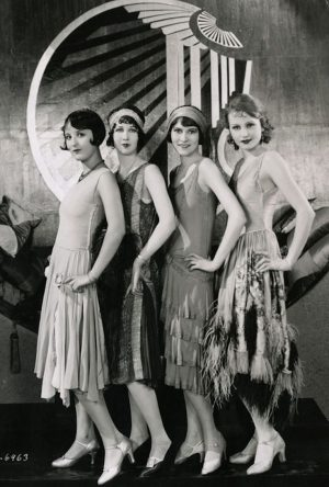 Courting flappers