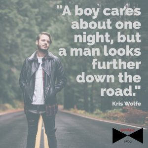 a boy cares about one night