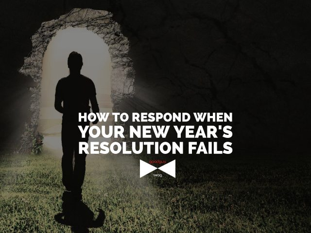 New year's resolution fails