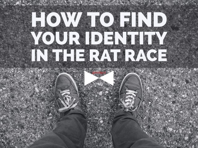How to find your identity in the rat race through community